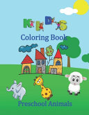Kids Coloring Book Preschool Animals PDF