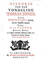 Historie van den vondeling Tomas Jones: Volume 3