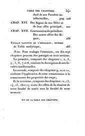 Elémens d'idéologie: Volumes1à4