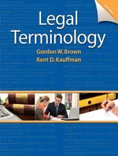 Legal Terminology: Edition 6