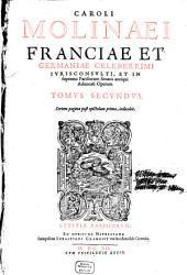 Opera, quae extant omnia: Volume 2