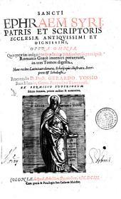 Opera omnia: Quotquot in insignoribus Italiae Bibliothecis, praecipue Romanis Graece inueniri potuerunt, in tres Tomos digesta, Volume 1