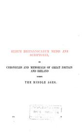 Annales Monastici: Annales de Margan, A.D. 1066-1232