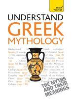 Understand Greek Mythology