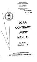 DCAA Contract Audit Manual PDF