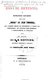 Romancero castellano: ó Colección de antiguos romances populares de los españoles, Volumen 3