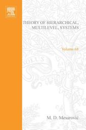 Theory of Hierarchical, Multilevel, Systems