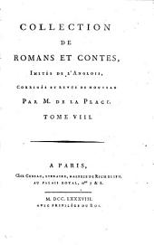 Collection de romans et contes: Volume 8