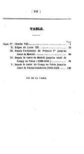 Histoire moderne: Guerre d'Italie, Volume2