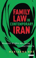 Family law in contemporary Iran PDF