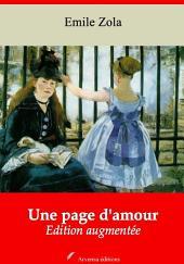 Une page d'amour: Nouvelle édition augmentée
