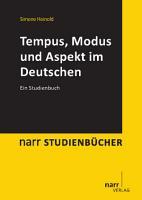 Tempus  Modus und Aspekt im Deutschen PDF