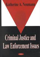 Criminal Justice and Law Enforcement Issues PDF