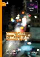 Young Adult Drinking Styles PDF