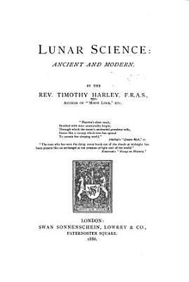 Lunar Science PDF