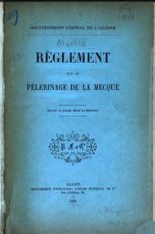 Règlement sur le pèlerinage de la Mecque