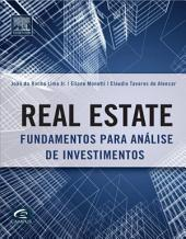 Real Estate: Fundamentos para Análise de Investimento