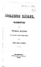 Englarnes Kärlek, skaldestycke af T. M.; öfversatt från Engelskan af V. A. Altén