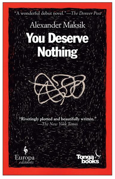 Download You Deserve Nothing Book