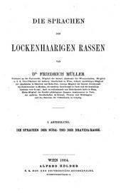 Grundriss der Sprachwissenschaft: Band 3,Teil 1