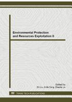 Environmental Protection and Resources Exploitation II PDF