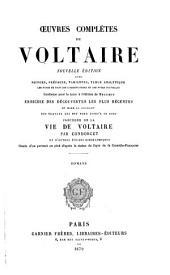 Œuvres complètes de Voltaire: Romans