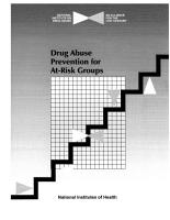 Drug Abuse Prevention for At Risk Groups PDF