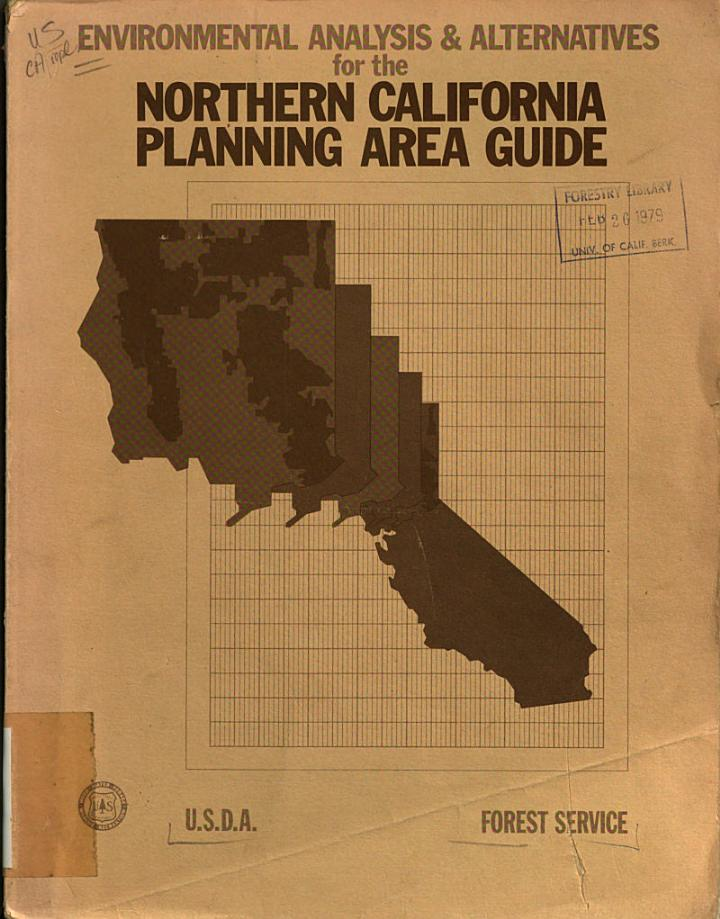 Environmental Analysis & Alternatives for the Northern California Planning Area Guide