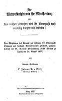 Die Bienenk  nigin und ihr Ministerium oder  Aus welchen Ursachen wird die Bienenzucht noch so wenig beachtet und betrieben PDF