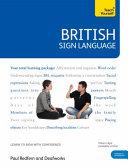 British Sign Language [Book/DVD Pack]