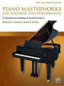 Piano Masterworks for Teaching and Performance  Vol 2 PDF