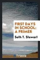 First Days in School
