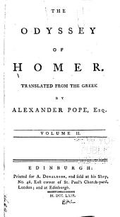 The Odyssey of Homer: Volume 2