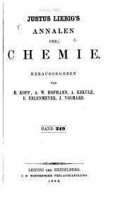 Justus Liebigs Annalen der Chemie: Bände 219-220