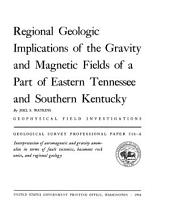 Geological Survey Professional Paper: Volume 516
