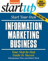 Start Your Own Information Marketing Business PDF