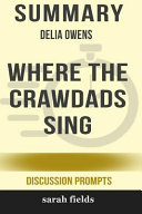 Download Summary  Delia Owens  Where the Crawdads Sing Book