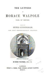The Letters of Horace Walpole, Earl of Orford: Volume 9