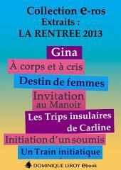 LA RENTRÉE LITTÉRAIRE 2013 Éditons Dominique Leroy – Extraits gratuits (eBook)