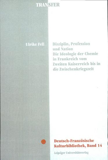 Disziplin  Profession und Nation PDF