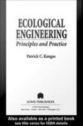 Ecological Engineering: Principles and Practice