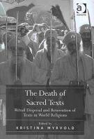 The Death of Sacred Texts PDF
