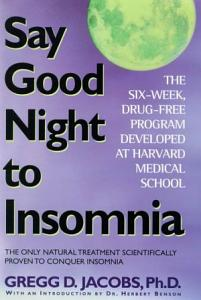 Say Good Night to Insomnia Book