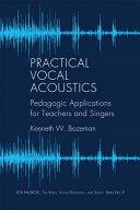 Practical Vocal Acoustics