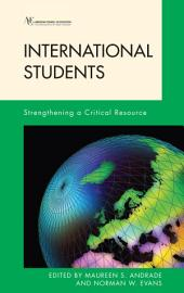 International Students: Strengthening a Critical Resource