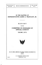 In the Matter of Representative James A. Traficant, Jr