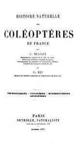 Histoire naturelle des coléoptères de France: Volume13