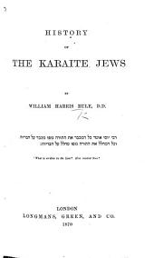 History of the Karaite Jews