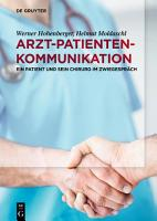 Arzt Patienten Kommunikation PDF