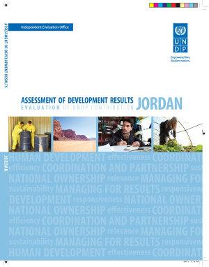 Assessment of Development Results   Jordan  Second Assessment  PDF